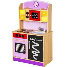 jeux chef de cuisine cuisine dinette cuisinière en bois pour enfant jeux jouet moderne