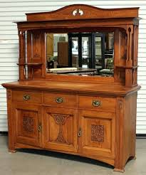 Antique Dining Room Buffet Sideboard For All Furniture Vintage