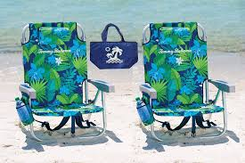 Amazon.com : 2 Tommy Bahama Backpack Beach Chairs (Green Flowers + ... Deals Finders Amazon Tommy Bahama 5 Position Classic Lay Flat Bpack Beach Chairs Just 2399 At Costco Hip2save Cooler Chair Blue Marlin Fniture Cozy For Exciting Outdoor High Quality Legless Folding Pink With Canopy Solid Deluxe Amazoncom 2 Green Flowers 13 Of The Best You Can Get On