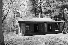 A Cabin In The Woods Picture of Borderland State Park Easton
