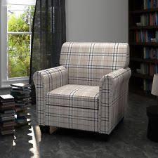 Back Jack Chair Ebay by Plaid Chair Ebay
