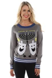 amazon com women u0027s ugly christmas sweater the hanukkah sweater