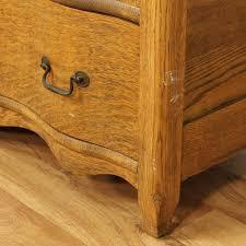 Tiger Oak Serpentine Dresser by 17 Tiger Oak Serpentine Dresser Lexington Quot Victorian