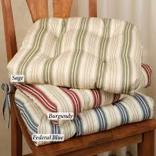 Stunning Dining Room Chair Cushions With Ties Pictures House Pertaining To Prepare 17