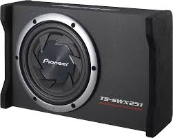 Pioneer TS-SWX251 Compact Sealed Enclosure With One 10