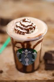 Homemade Starbucks Mocha Frappuccino FrappuccinosStarbucks