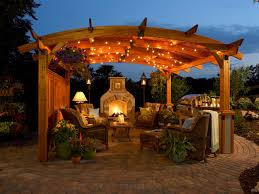 patio lighting ideas pictures The Minimalist NYC