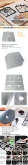 Sink Protector Mats Australia by Honana Rp11 4pcs Reusable Silver Gas Range Protector Liner Non