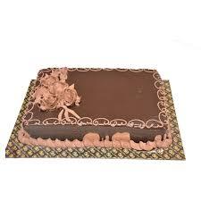 1 5 Kg Chocolate Square Cake
