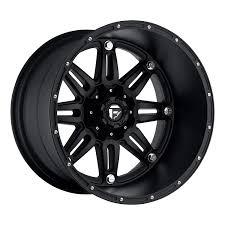 Amazon.com: Fuel D531 HOSTAGE DEEP LIP MATTE BLACK 20x12