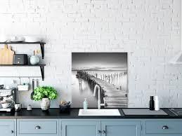 sonstige glasbild 80x80 cm wandbild glas küche