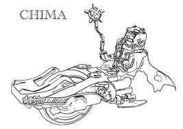 Quest For The Legend Beasts In Lego Chima Coloring Pages Batch