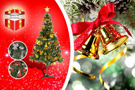 6ft Christmas Tree With Decorations by 6ft Christmas Tree U0026 Decoration Kit