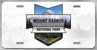100 Rainier Truck And Trailer Amazoncom DHDM Mount National Park License Plate Tag