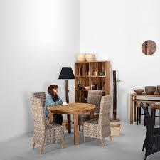 Corigge Market On Sale Old Teakround Dining Table 1100 Asian Furniture Wood Solid Simple Modern Cafeacute Scandinavia 6 People