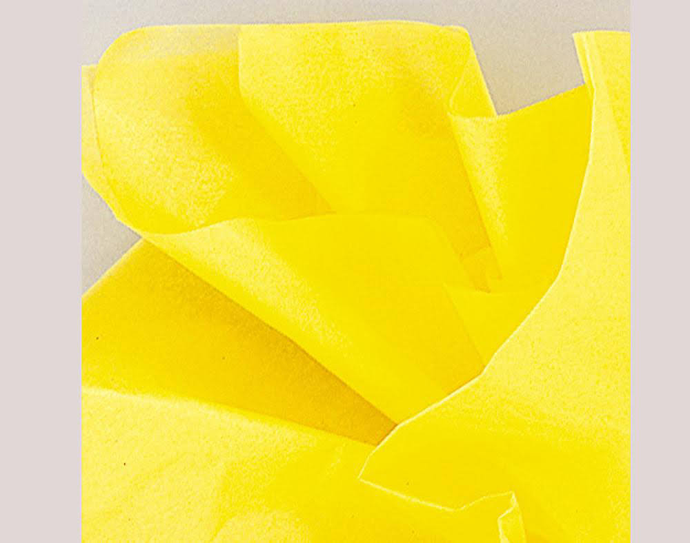 Unique Industries Tissue Gift Wrapper - Yellow, 10 Sheets