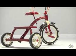 radio flyer 12 in classic red tricycle product review video