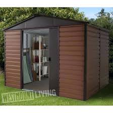 click 8 x 6 garden shed tongue and groove 8 x 6 metal garden sheds