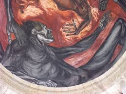 Jose Clemente Orozco Murales by Man Of Fire