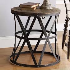 Modern Rustic Furniture Solid Wood Square Coffee Table
