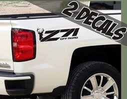 Product: 2 - Z71 Offroad Decals Deer Hunting For Chevrolet Silverado Chevy Ac Buttons Button Repair Kitac Kit Michoacan Mexico Truck Decal Sticker Tailgate For Silverado Graphics Speed Xl Hockey Side Door Body Vinyl 62017 Colorado Antero Rear Bed Mountain Scene Distressed American Flag Toyota Tundra Gmc 42018 Stripes Shadow Ctennial Edition 100 Years Of Trucks Chevrolet 1989 And 1990 Baja Pickup Decals Rally 1500 Racing Hood 1993 454 Ss Youtube Rally Style Flow 62018 3m