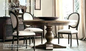 Restoration Hardware Round Table Are Dining St Room Chair Covers