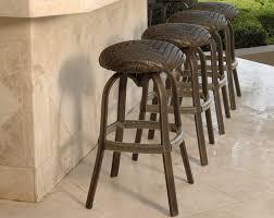Walmart Papasan Chair Cushion by Bar Stools Outdoor Wicker Swivel Bar Stools With Backs Costco