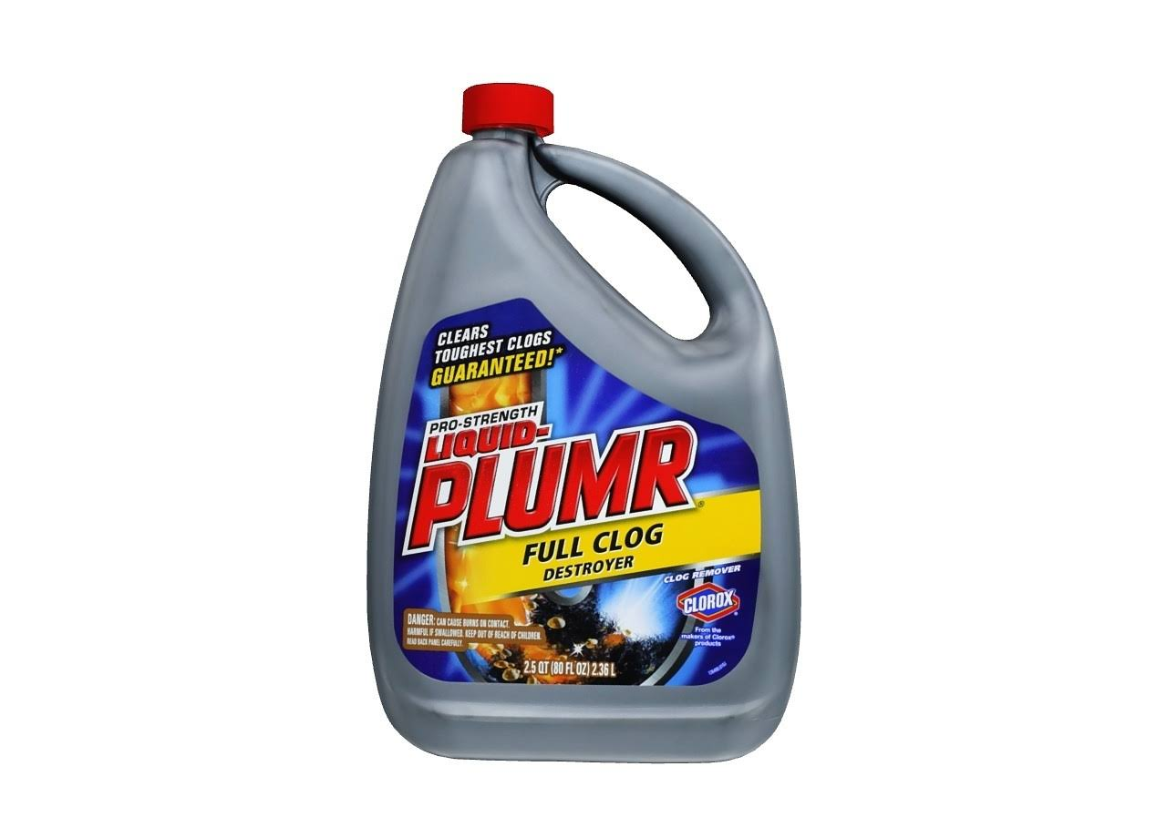 Clorox Liquid-Plumr Pro-Strength Full Clog Destroyer - 80oz