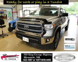 Used 2015 Toyota Tundra TRD Off Road In Miramichi - Used Inventory ... 5 Things You Need To Know About The 2017 Toyota Tundra Trd Pro My18 Ebrochure Judys Work Truck Youtube 2014 Work Truck Package Pro 2012 Reviews And Rating Motortrend Used 2015 Off Road In Miramichi Inventory 2016 Amazoncom 2001 Images Specs Vehicles Moss Bros New Dealership Moreno Valley Ca 92555