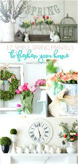 Decor For Spring Best Home Ideas On Decorations Small Wreath And