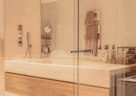 badmöbel waschtisch und wc tafel sandstein mit einem