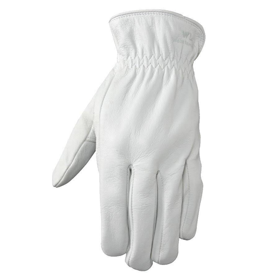 Wells Lamont 1720M Goatskin Full Leather Work Gloves - Medium