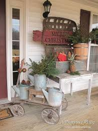 Rustic Christmas Decorations 36