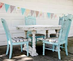 New Shabby Chic Kitchen Chairs