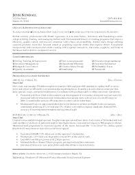 Resume Sample Chef Culinary Resumes Examples Example