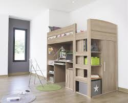 montana loft beds with desk and closet underneath are gami brand