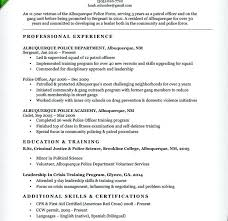 New Police Officer Resume Examples Also Download Law Enforcement Template For Frame Cool 942