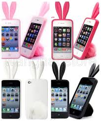 Bunny Rabito Rubber Skin TPU Case Cover For iPhone 4 4G 4S Rabbit