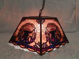 Tiffany Style Lamp Shades by Rare Vintage Dr Pepper U0027s Phos Ferrates Tiffany Style Stained Glass