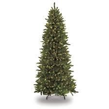 9 Slim Christmas Tree Prelit by The Holiday Aisle Pre Lit Slim Fraser 12 U0027 Green Fir Artificial