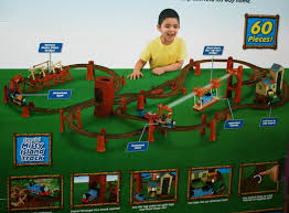 Thomas And Friends Tidmouth Sheds Trackmaster by Image Trackmastermistyislanddeluxesetbackofbox Jpg Thomas And