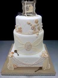 Smarter Way To Wed Romantic S Creative Bridalguide Vintage Style Wedding Cake Toppers This