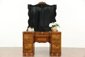 Waterfall Vanity Dresser Set by Dressers Chest Sink Vanities Harp Gallery Antique Furniture