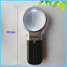 Desktop Magnifying Lamp Canada by Aliexpress Com Buy 65mm Plastic Folding Desktop Magnifying Glass