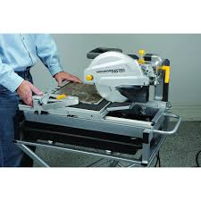 Skil Wet Tile Saw 3550 by 2 5 Hp Industrial Tile And Brick Saw With 10 Inch Diamond Blade