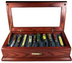1 Victorian Knife Display Case Chest