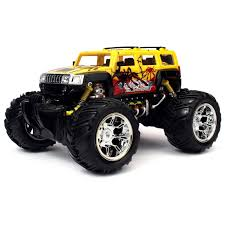 100 Remote Trucks Velocity Toys Graffiti H2 SUV Control RC Truck 116 Scale Big