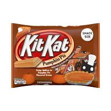 Cooked Pumpkin Pie Moonshine by Kit Kat Pumpkin Pie Crisp Wafers In Pumpkin Pie Flavored Creme