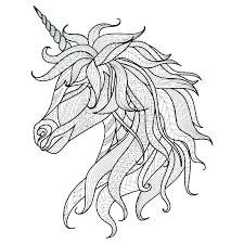 Unicorn Color Page Coloring Pages Flying Printable Perfect Free Plus Large Size Of Realistic