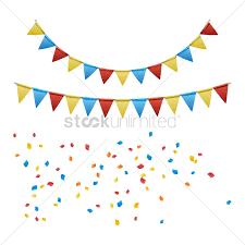 Beautiful Birthday Decoration Vector Graphic